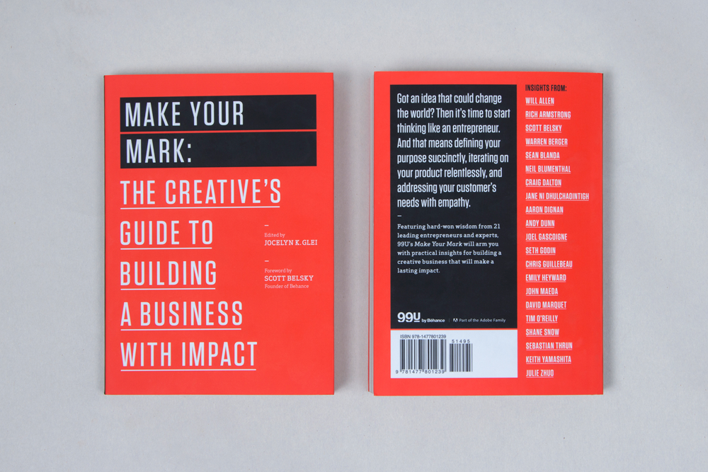 Make Your Mark, interior spread