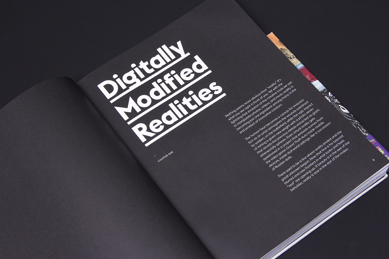 Super-Modified: The Behance Book of Creative Work, interior spread